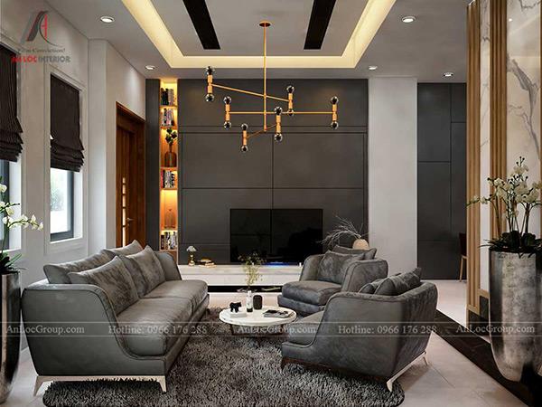 Phòng khách biệt thự đẹp, hiện đại