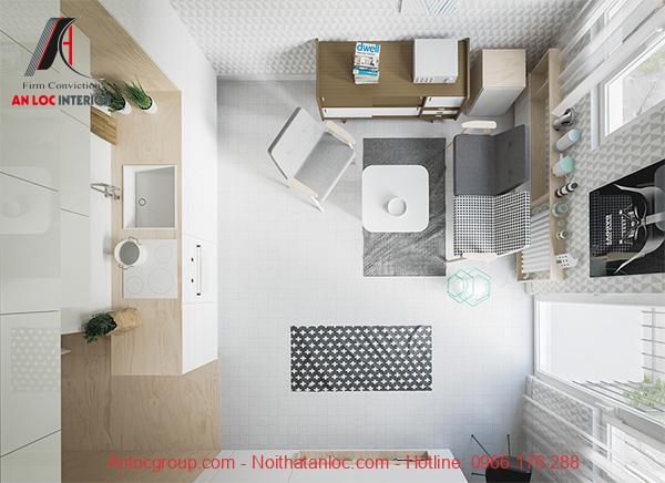 Thiết kế căn hộ 20m2