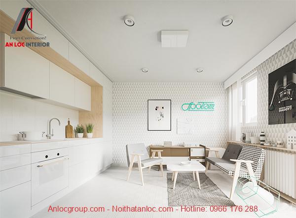 Thiết kế chung cư mini 20m2