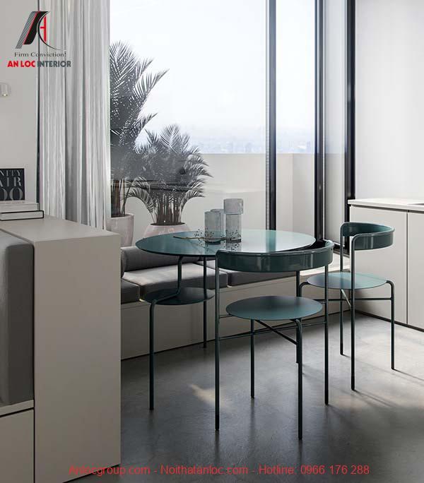 Thiết kế nội thất căn hộ 28m2