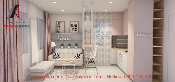 Thiết kế căn hộ mini 30m2