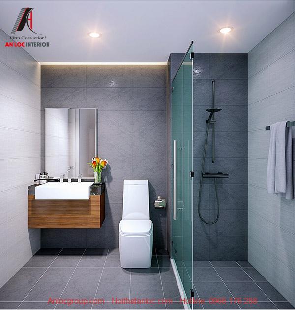 Thiết kế căn hộ 46m2 hiện đại