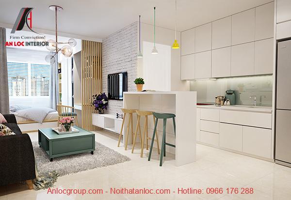 Thiết kế căn hộ chung cư 48m2