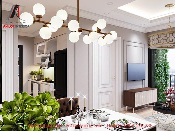 Thiết kế căn hộ chung cư 53m2