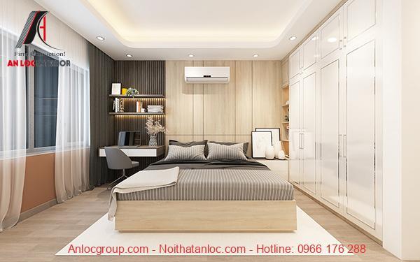 Nội thất phòng ngủ căn hộ