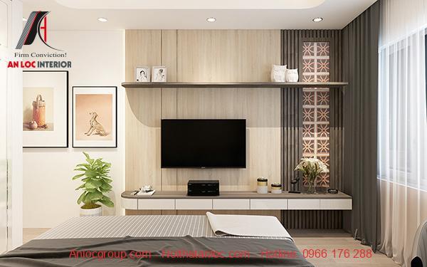 Thiết kế căn hộ chung cư 54m2