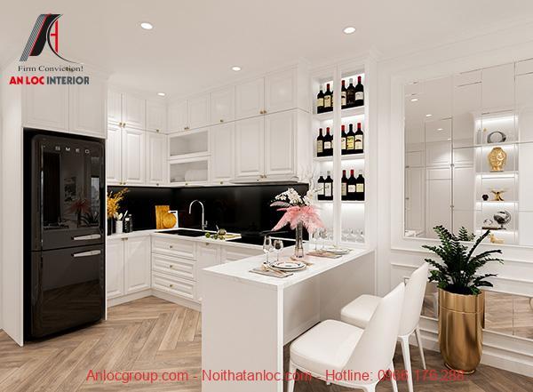 Thiết kế nhà chung cư 65m2