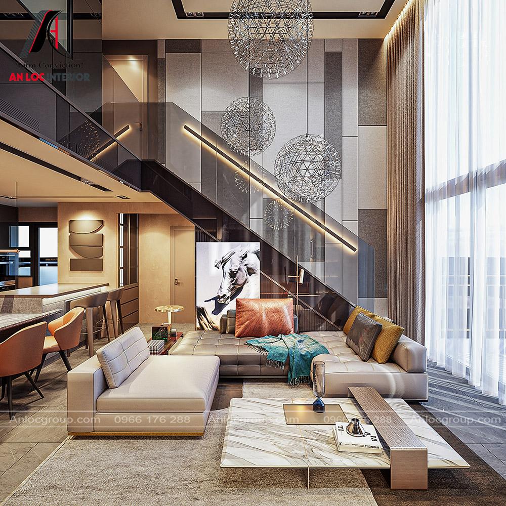 Thiết kế căn hộ Duplex tại Riviera point