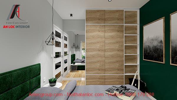 Thiết kế chung cư mini 40m2