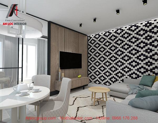 Thiết kế căn hộ chung cư 40m2