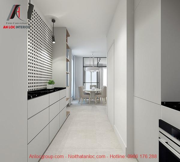 Thiết kế nội thất chung cưc nhỏ 40m2