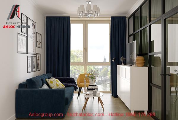 Thiết kế căn hộ mini 40m2