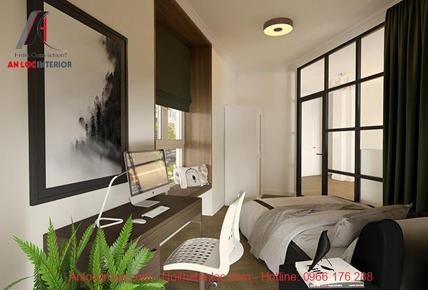 Thiết kế nhà chung cư 40m2