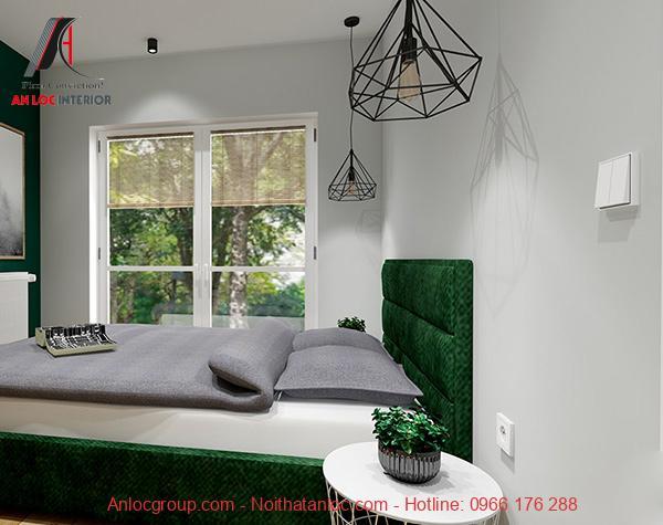 Thiết kế căn hộ 40m2 1 phòng ngủ