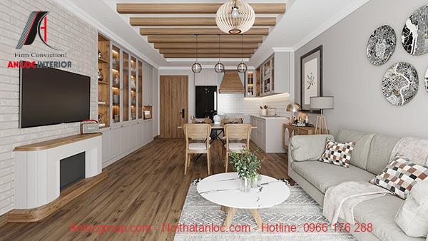 Hình ảnh nội thất căn hộ đẹp với cách sử dung màu sắc ấn tượng