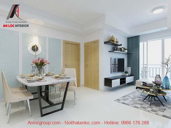 Sử dụng nội thất thông minh giúp tiết kiệm diện tích không gian đáng kể