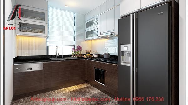 Mẫu phòng bếp đẹp, hiện đại