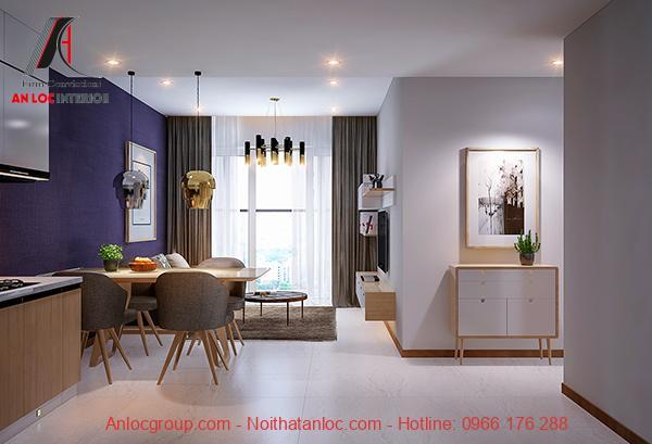 Thiết kế nội thất chung cư 72m2