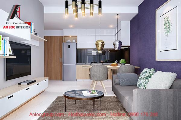 Thiết kế căn hộ 72m2