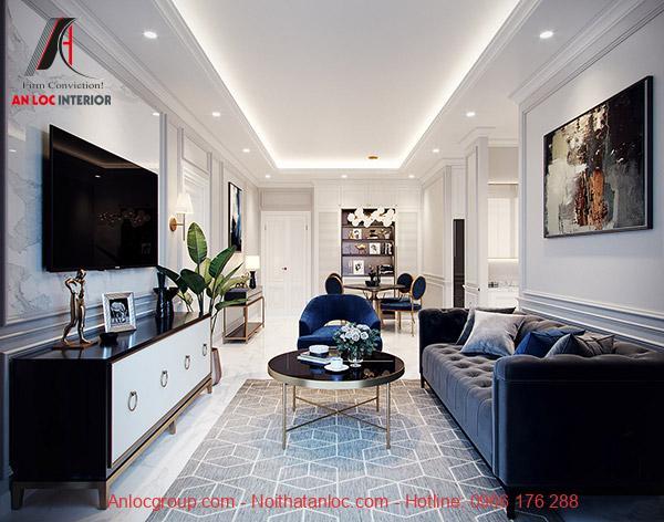Thiết kế căn hộ 75m2