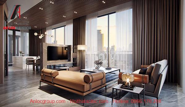 Thiết kế nội thất căn hộ chung cư 95m2