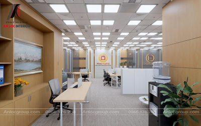 Thiết kế nội thất văn phòng công ty Phú Hưng