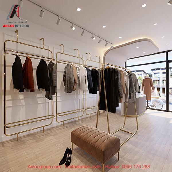 Thiết kế showroom thời trang hiện đại