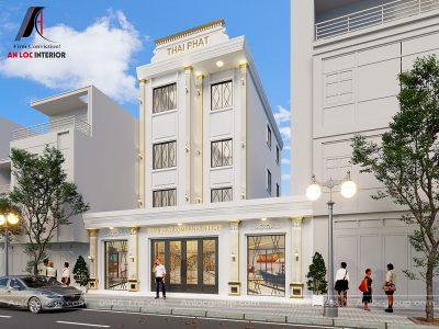Thiết kế tòa nhà văn phòng Thái Phát