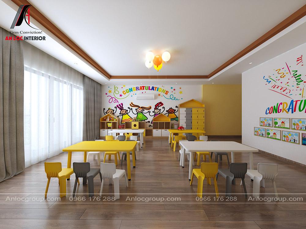 Thiết kế trường mầm non ICE phòng học 02
