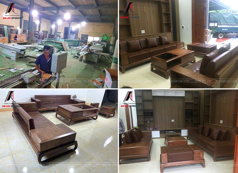 Xưởng sản xuất nội thất Hà Nội