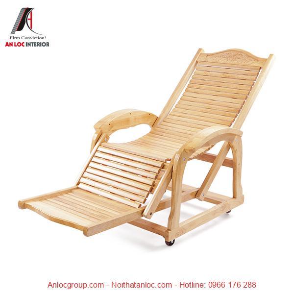 Ghế gỗ nằm thư giãn