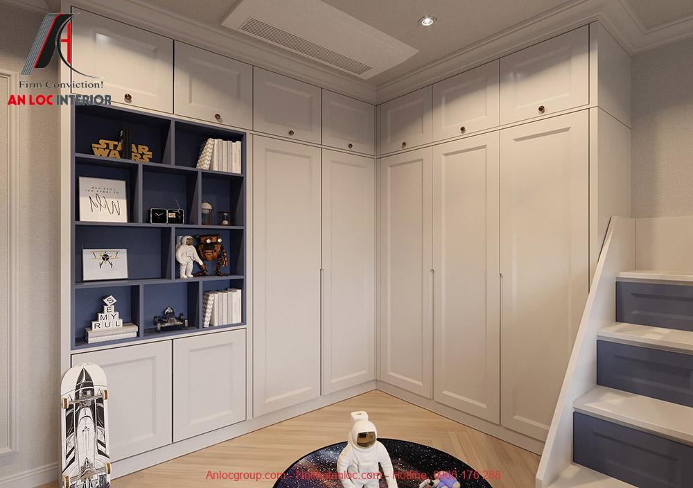 Thiết kế phòng ngủ trẻ em chung cư Phương Đồng Green Park