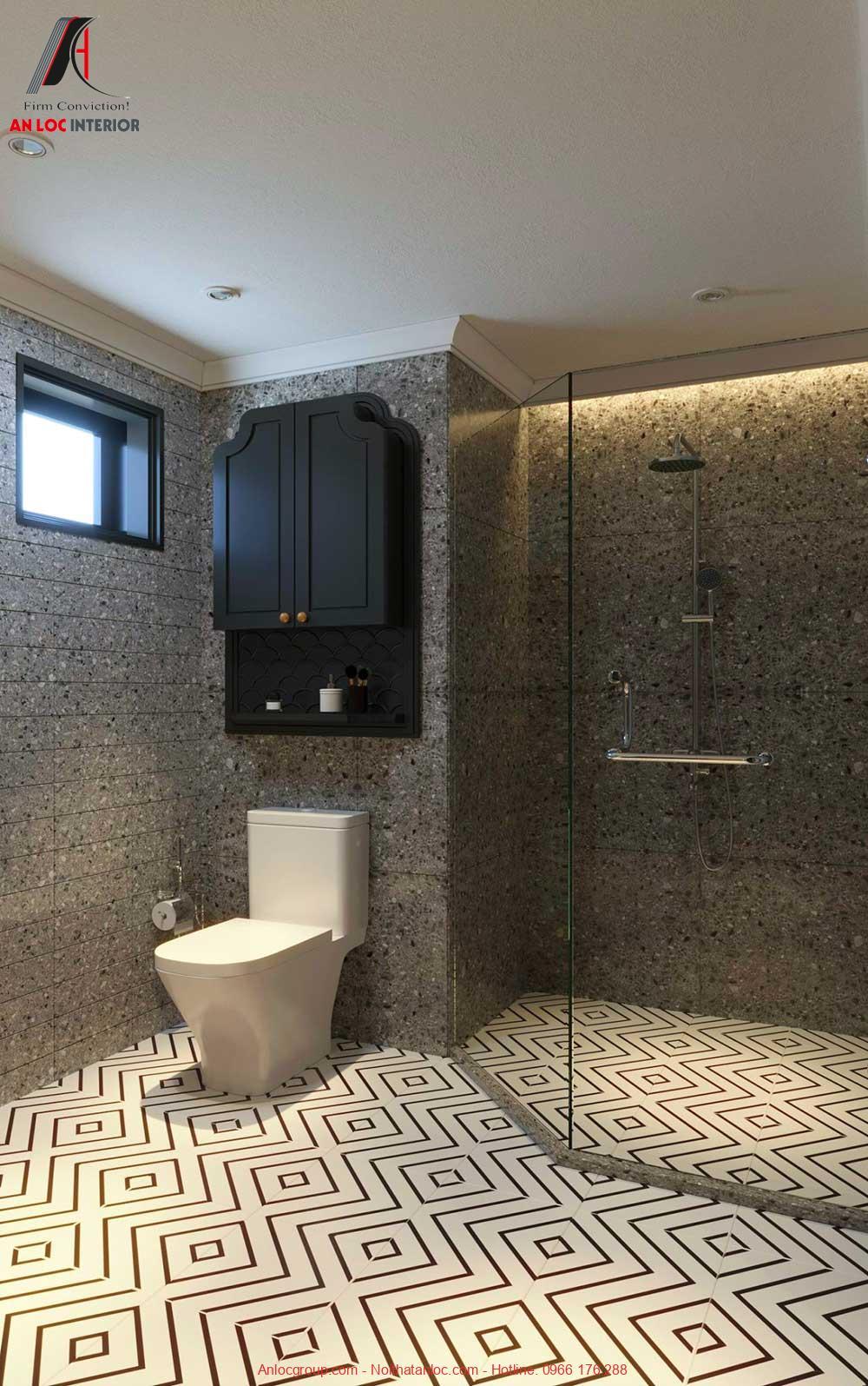 Thiết kế phòng tắm chung cư The Tera An Hưng