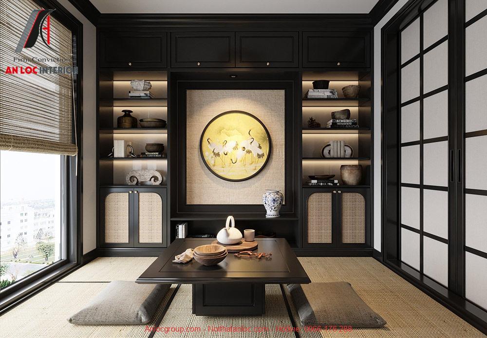 Thiết kế nội thất chung cư 3 phòng ngủ tại The Tera An Hưng