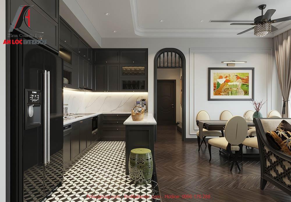 Thiết kế nội thất chung cư the tera an hưng