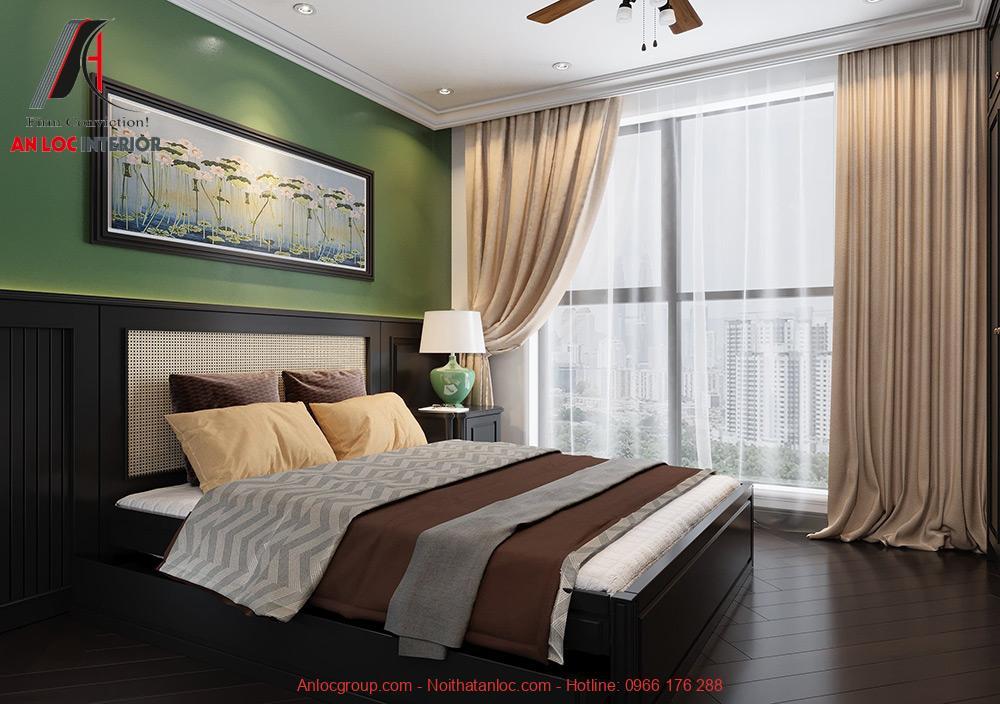 Nội thất phòng ngủ chung cư The Tera An Hưng