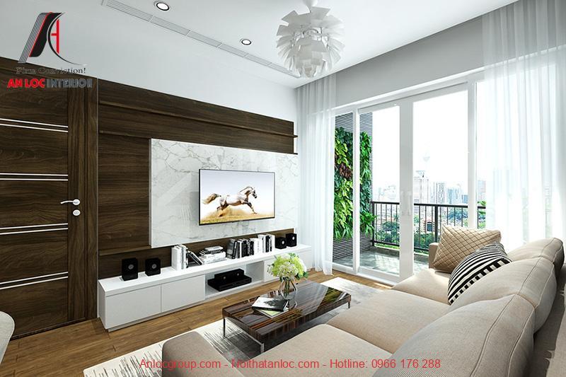 Mẫu phòng khách đẹp, hiện đại