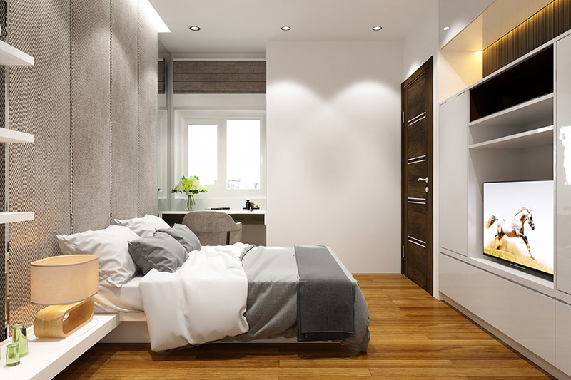 Thiết kế nội thất căn hộ the tera an hưng