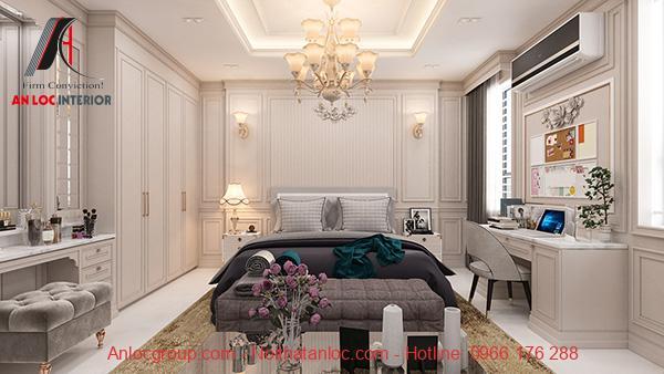 Phòng ngủ đẹp cho nữ