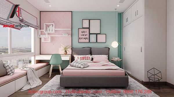 Trang trí phòng ngủ cho thiếu nữ