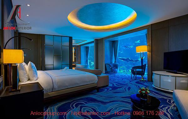 Phòng ngủ sang trọng nhất thế giới