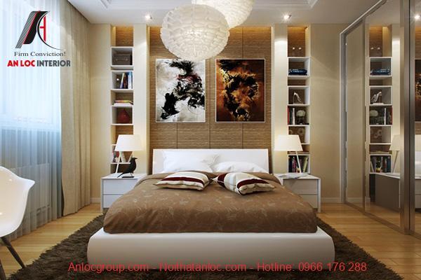 Thiết kế phòng ngủ nhà ống đẹp