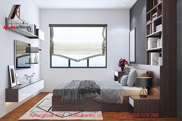 Cửa sổ phòng ngủ nhà ống