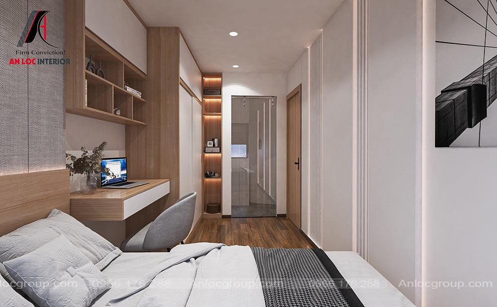 Tầng 4 nhà phố phòng ngủ master