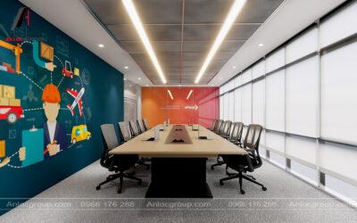 Thiết kế nội thất văn phòng công ty Epass