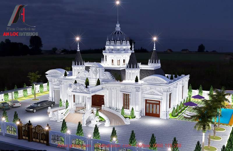 Thiết kế lâu đài dinh thự