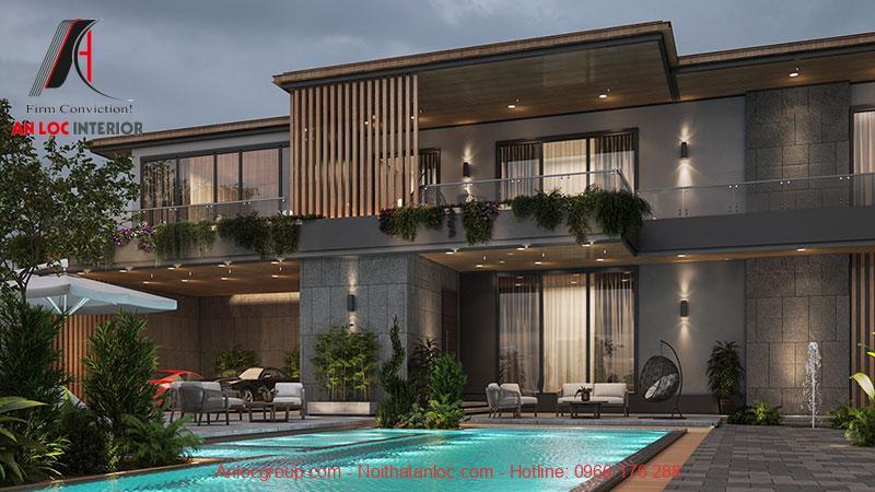 Mẫu thiết kế biệt thự nghỉ dưỡng đẹp