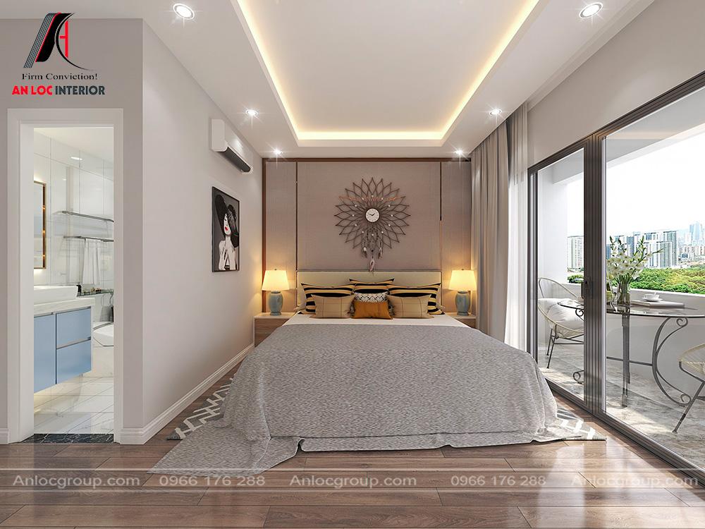 Nội thất nhà phố hiện đại 5x20m tại Thái Nguyên
