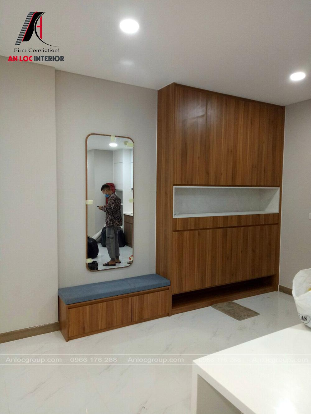 Thi công nội thất chung cư tại Sunwah 90 Nguyễn Hữu Cảnh