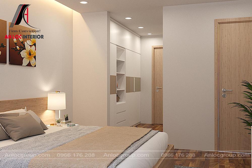 Thiết kế nội thất căn hộ 139m2 tại Goldmark City